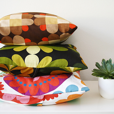 DIY - easy peasy pillow covers tutorial
