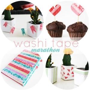 washi tape marathon