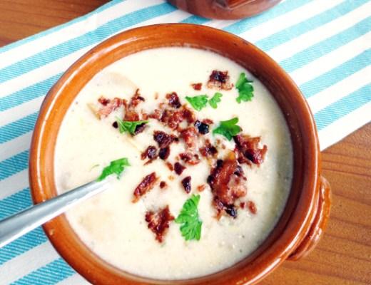 champignon soup with bacon recipe