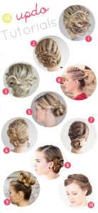 10 great diy hair updo tutorials for this fall