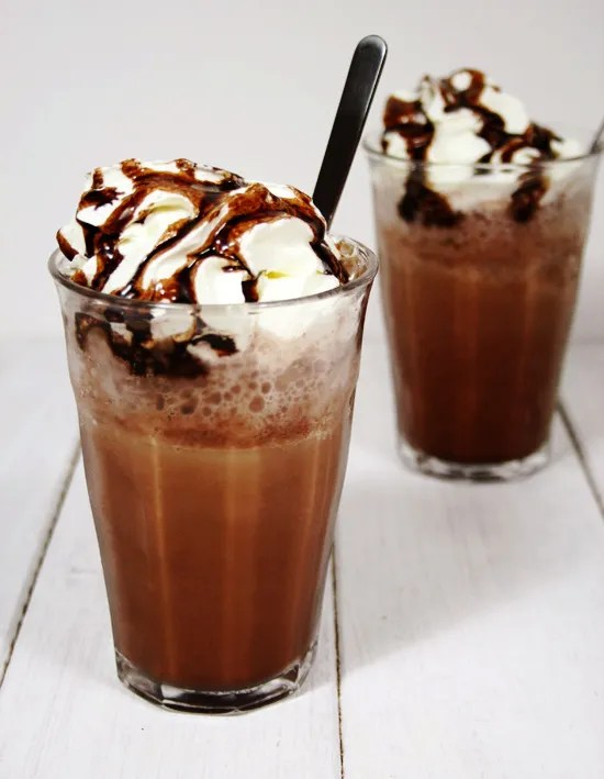 Supporting Tom's Coffee Addiction #1: Homemade Mocha Frappe