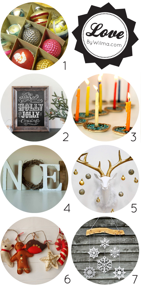 Amazing Christmas holiday decorations from Etsy #Etsy #Christmas #decorations