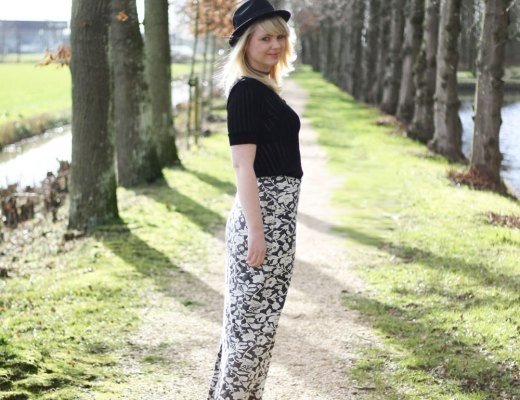 What I wore - Pretty by the pond