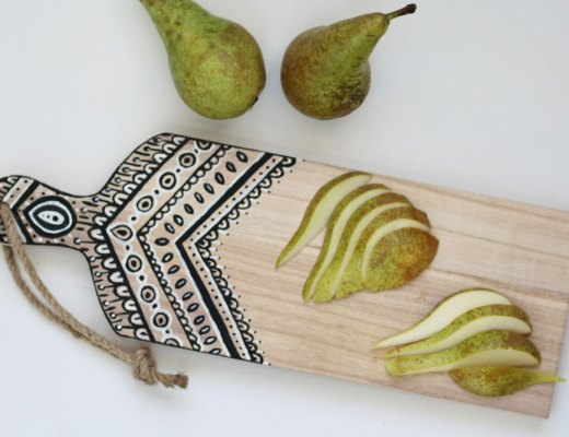 DIY - Painted cutting board
