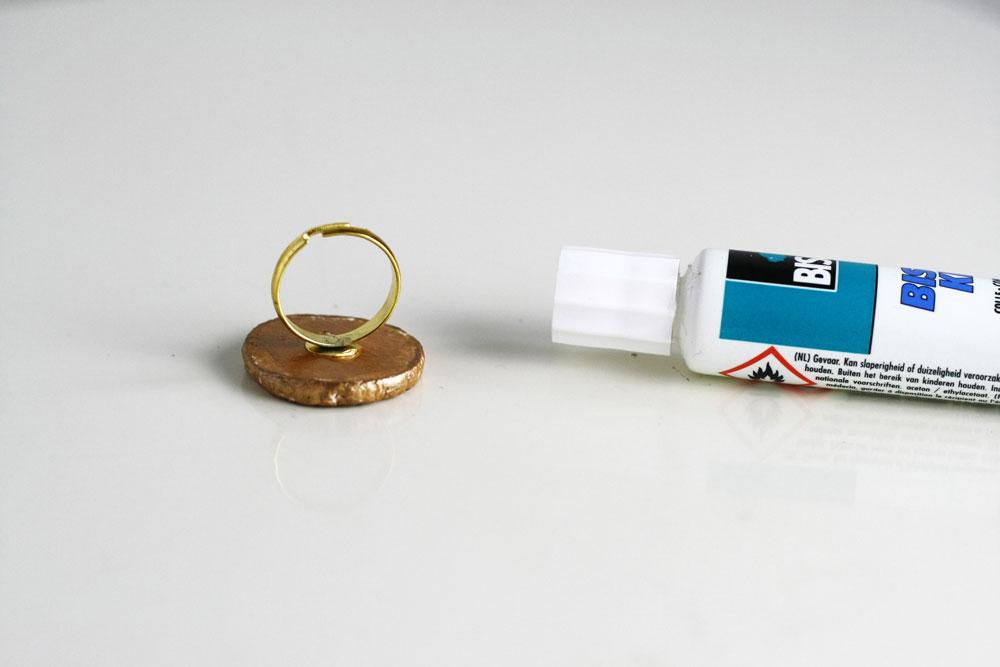 DIY - Simple boho clay ring