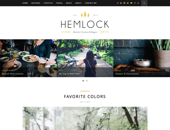 Hemlock Theme Themeforest