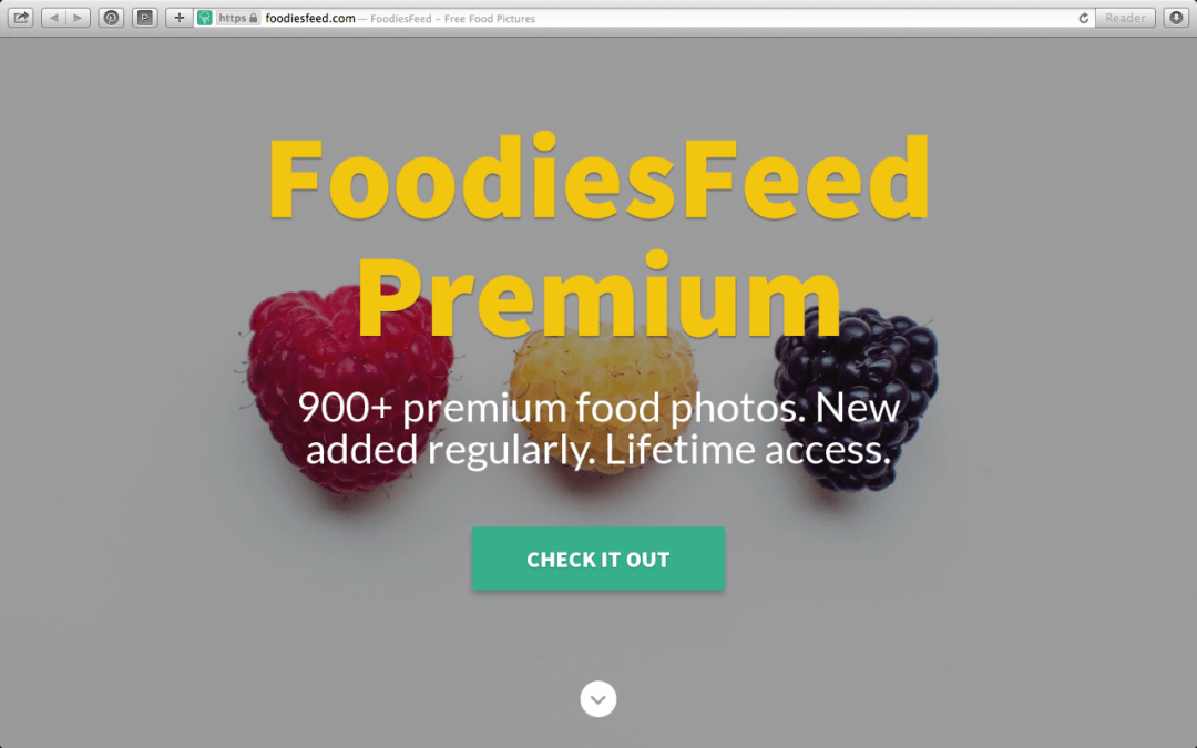 Great free public domain pictures resource: FoodiesFeed