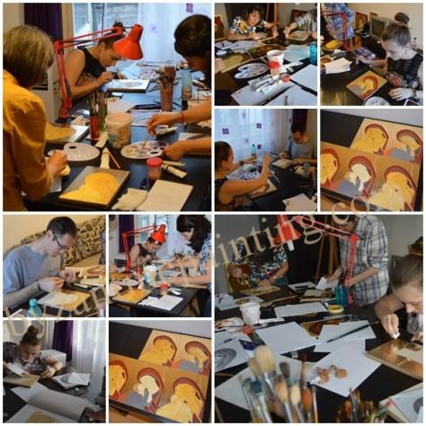 Curs de pictura icoana pe lemn pentru incepatori