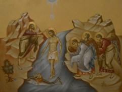 Botezul Domnului Icoana pictata