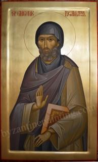 Saint Gregory the Decapolite, byzantine icon