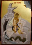 Saint George, byzantine icons for sale