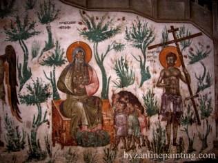 Mural painting Gracanica monastery (12)