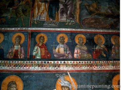 Mural painting Gracanica monastery (5)