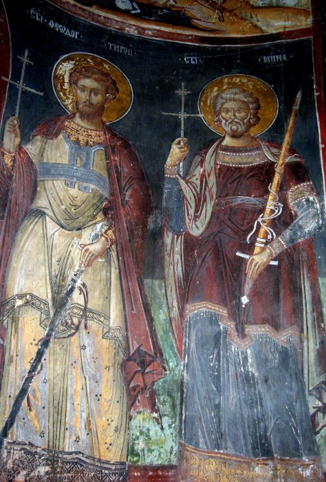 Mural painting from the Cozia Monastery (7)