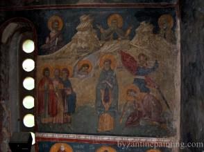 Pictura murala Manastirea Gracanica Serbia (11)
