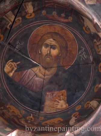 Pictura murala Manastirea Gracanica Serbia (15)