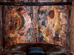 Pictura murala Manastirea Gracanica Serbia (18)