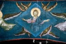 Pictura murala Manastirea Gracanica Serbia (2)