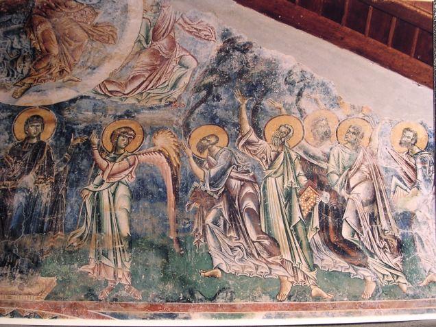 Mural painting Kurbinovo Macedonia (22)