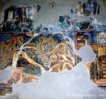 Pictura in fresca Kurbinovo Macedonia