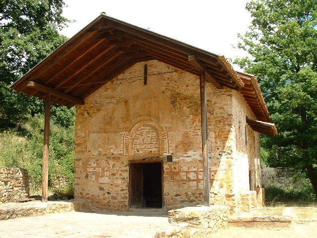 Biserica Sfantul Gheorghe, Kurbinovo