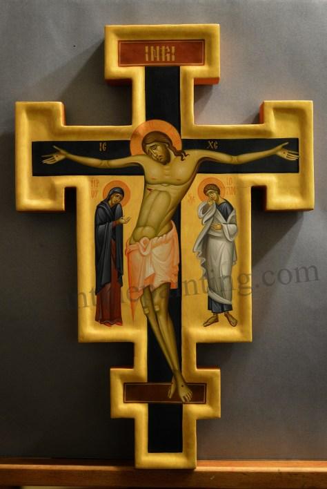 Cruce pictata- Crucifix (4)