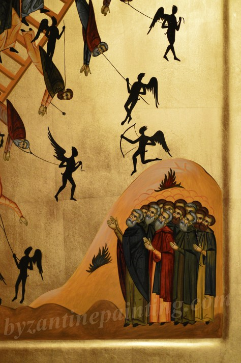Icoana Scara Virtutilor Icon The Ladder of Divine Ascent (4)