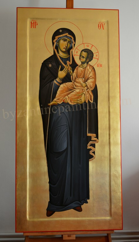 Holy Virgin Hodegitria Icons of the Mother of God (2)