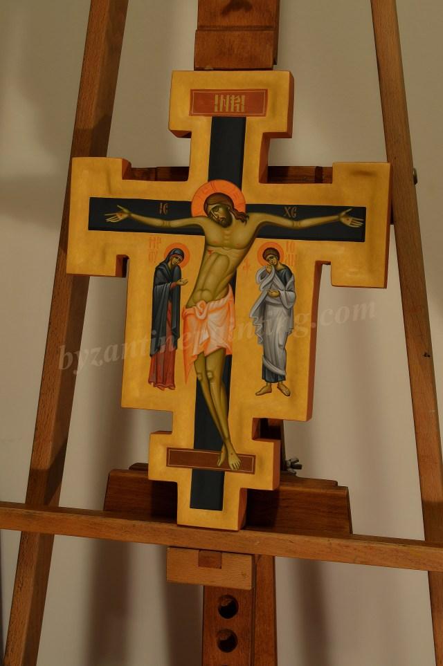 crucifix-painted cross
