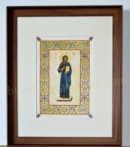 Jesus Christ painted miniature (1)
