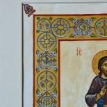 Jesus Christ painted miniature