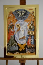 The Resurrection,Icon of Victory byzantin icon