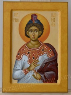 Sfantul Proroc Daniel Icoana pictata pe lemn
