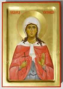 Saint Victoria byzantine icon (1)