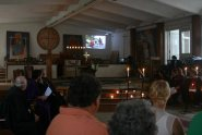 Photo taken at a memorial service in Peace Cathedral, Tbilisi, after Norway tragedy (http://www.ebcgeorgia.org/Neue_Dateien/start.html)