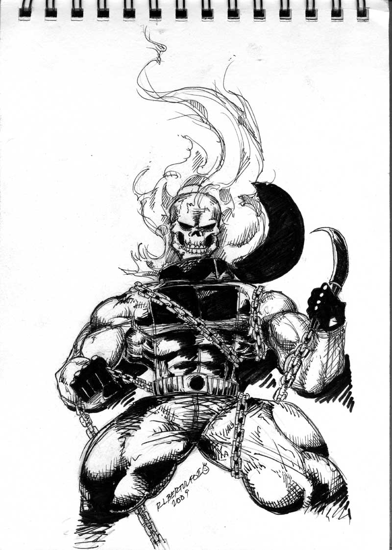Ghost Rider weird version :)