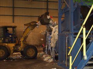 Carga de residuos