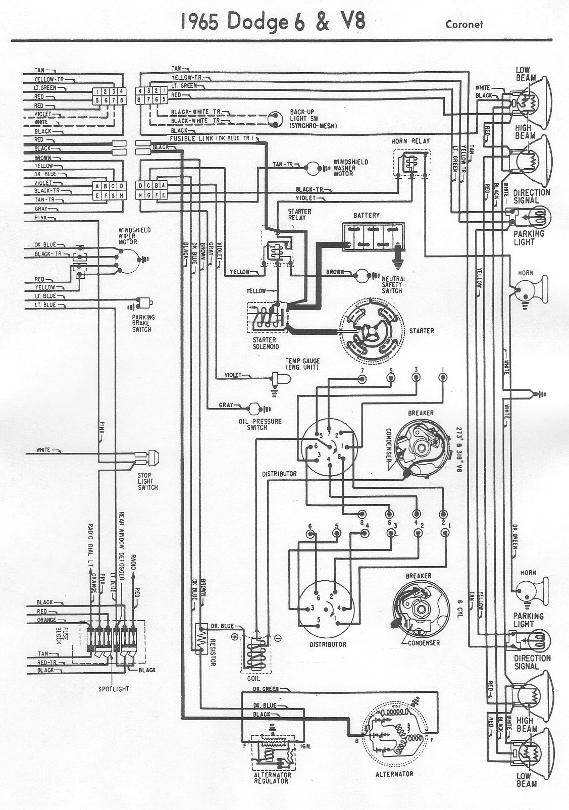 Dodge 100 Engine Wiring Diagrams