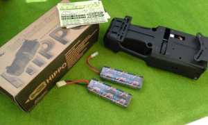 starter box team magic + 2 batteries NIMH 2000mAh 7,2