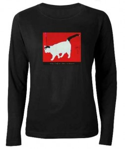 white-and-black-cat-blk-T-shirt