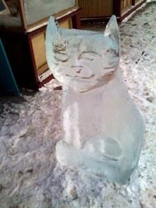 Cool Brew ice Sculpture