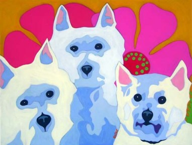 Three Westies