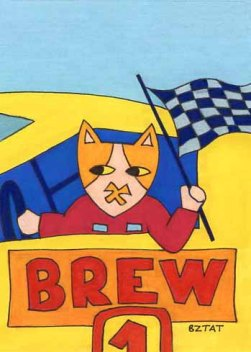 Brewskie-Butt-cat-drawing-Datona-racing