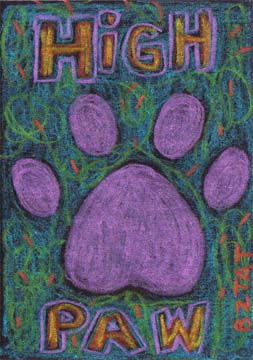 paw-print-drawing-ACEO-BZTAT
