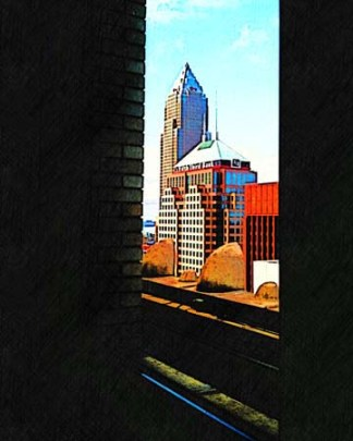View-of-Cleveland-OH-architecture-iphone-digital-art