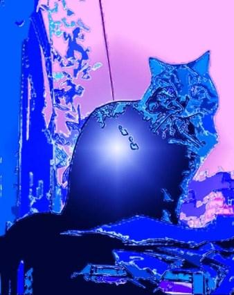 Digital cat art by BZTAT