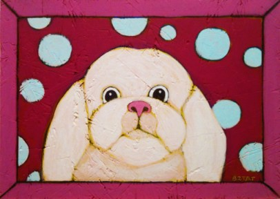 Shih Tzu painting by BZTAT