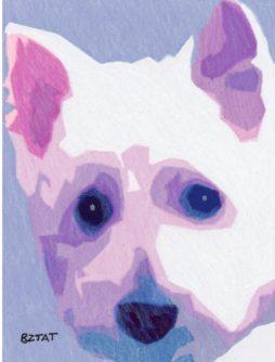 Westie Dog Drawing