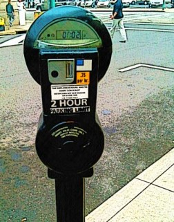 Parking meter design by BZTAT