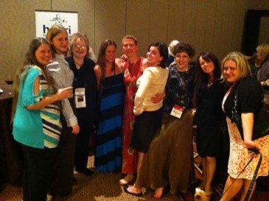 Pet bloggers at BlogPaws